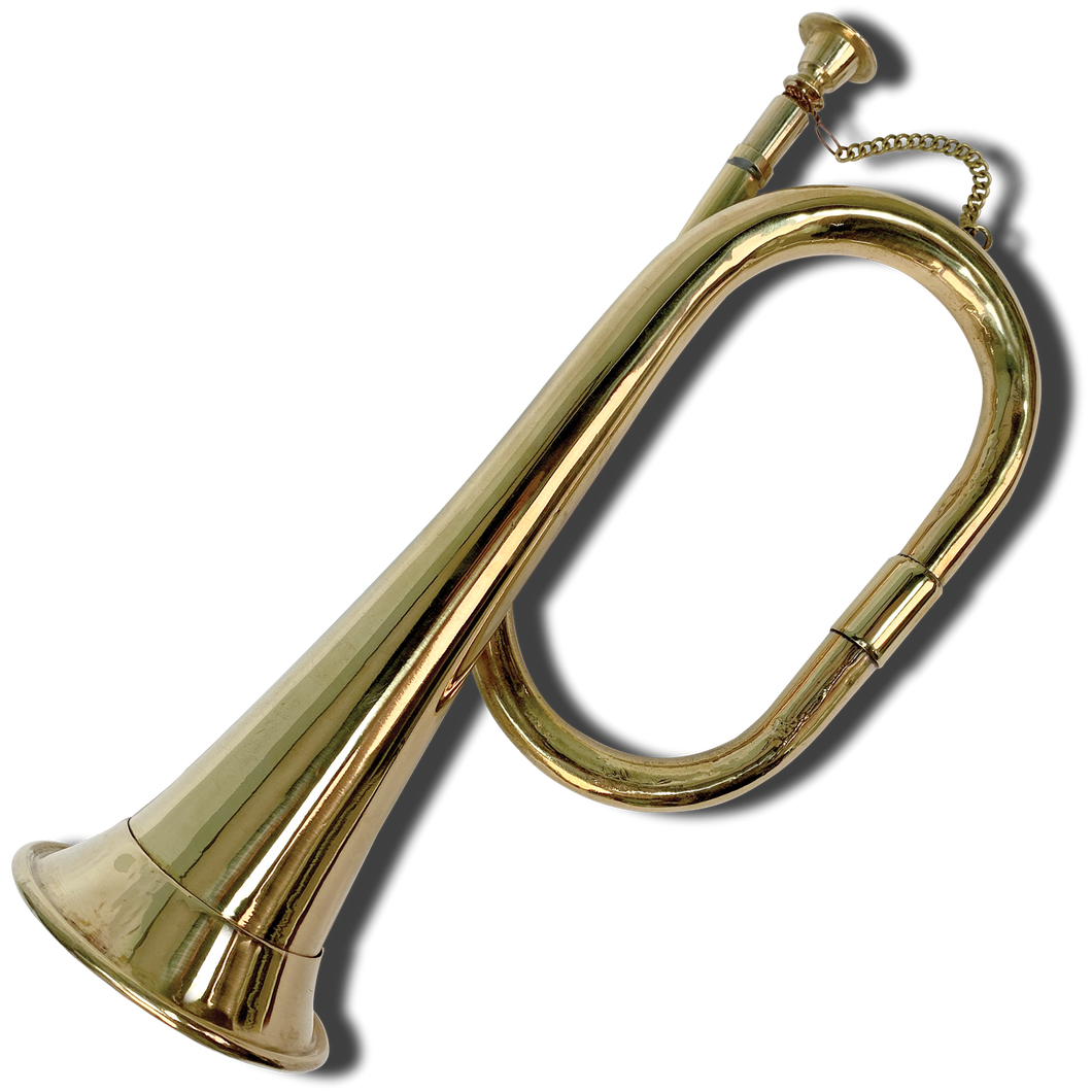 Solid Brass Bugle TY-001-148
