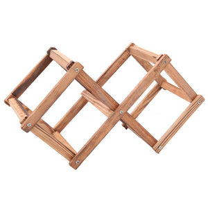 Wooden Red Wine Rack