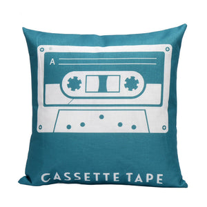 Cassette Pillow Cover