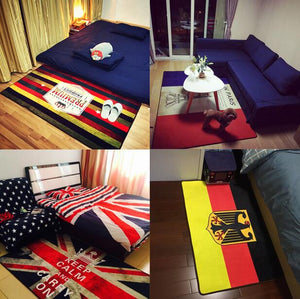 Retro Flag Decorative Area Rug