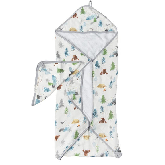 Lou Lou Lollipop Hooded Towel Set - Adventure Begins