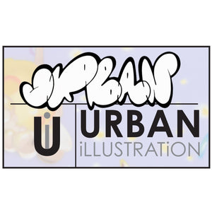 urban illistration mixed media art classes