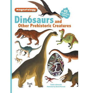 Magnetology: Dinosaurs And Other Prehistoric Creatures - hip-kid
