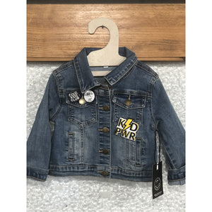 Wee Monster Out of Control Patch Denim Jacket