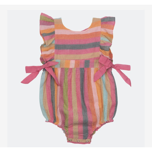 Pink Chicken Amy Bubble Multi stripe