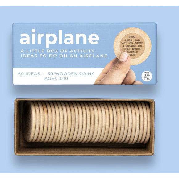 The Idea Box - Airplane - A Little Box of Activity Ideas To Do On An Airplane