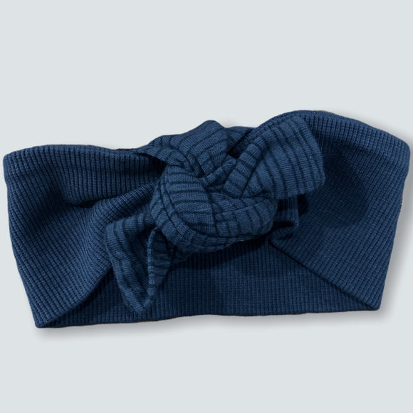 "Bows Arts Anthracite ""Alicia"" Baby Headband"