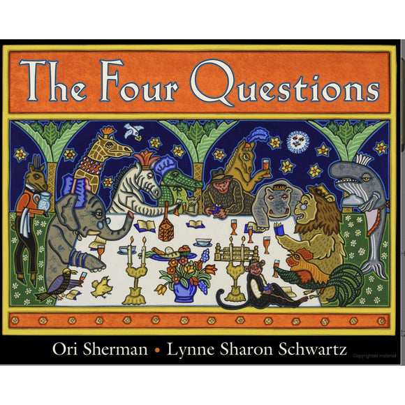 The Four Questions by Ori Sherman - hip-kid