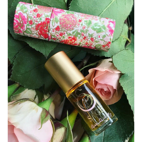 sage turqoise roll-on scent perfume