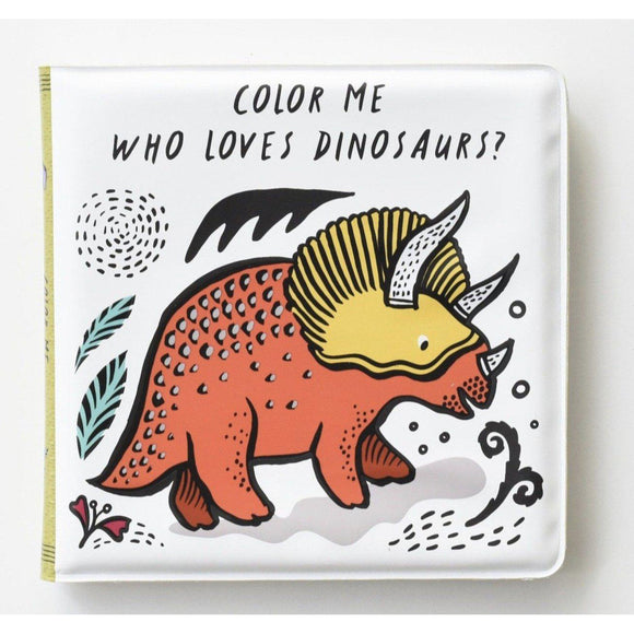 Wee Gallery Bath Book: Who Loves Dinosaurs? - hip-kid