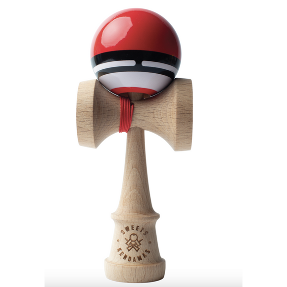 Sweets Kendama Boost Radar (Red) - hip-kid