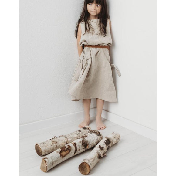 Bexa 100% Linen Maxi Dress-BEXA-hip-kid