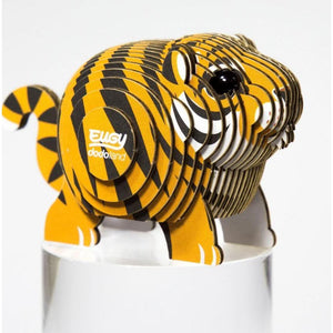 Geotoys Eugy - Tiger 3D 28pc Puzzle - hip-kid