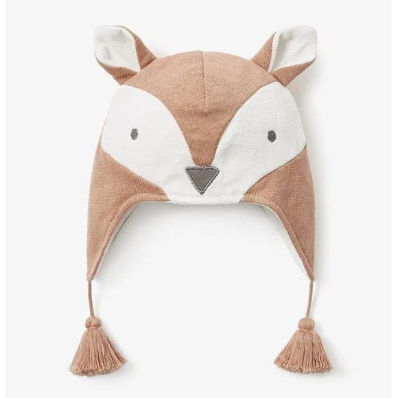 Elegant Baby Fox Aviator Hat (0-12m)-ELEGANT BABY-hip-kid