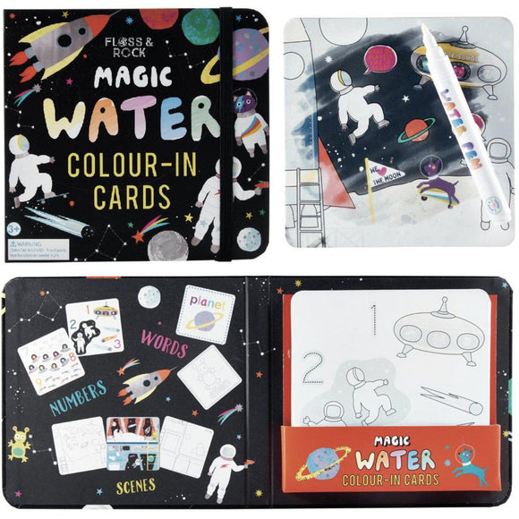 Floss & Rock Magic Water Color Changing Cards - Space-FLOSS & ROCK-hip-kid