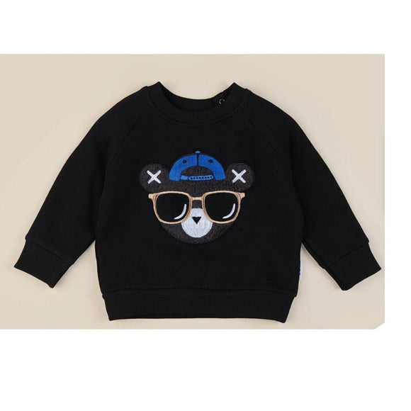 Huxbaby Cool Hux Sweatshirt-Huxbaby-hip-kid