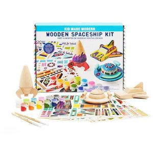 Kid Made Modern Wooden Spaceship Kit-KID MADE MODERN-hip-kid