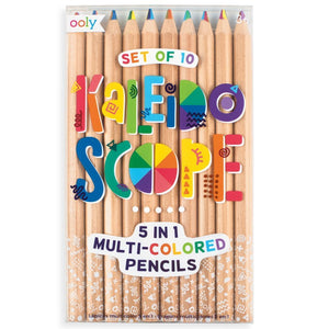OOLY Kaleidoscope Multi Colored Pencils (Set of 10)-OOLY-hip-kid