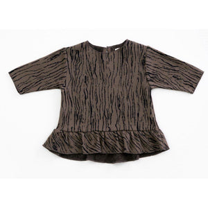 Play Up Jersey Tunic Top - Woodwork / 12m-Play Up-hip-kid
