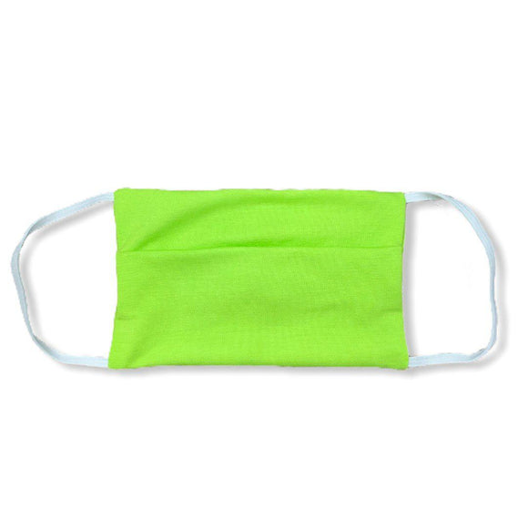 Project Social Tee Face Mask (ages 4+) - Neon Green-Project Social T-hip-kid