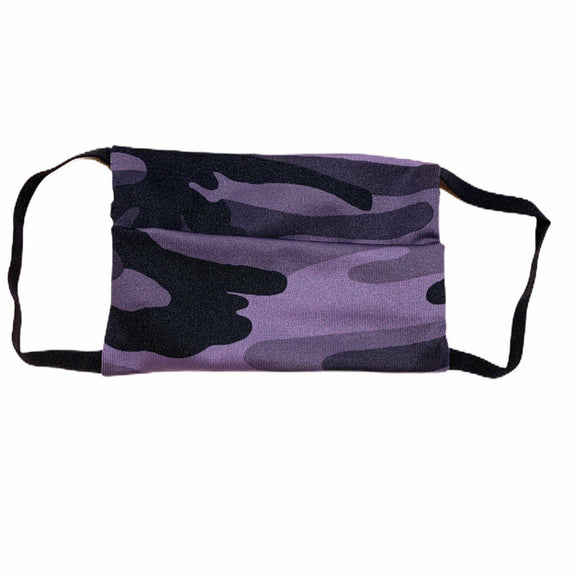 Project Social Tee Face Mask (ages 4+) - Purple Camo-Project Social T-hip-kid