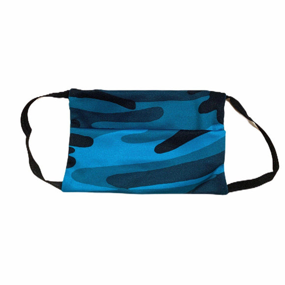 Project Social Tee Face Mask (ages 4+) - Teal Camo-Project Social T-hip-kid