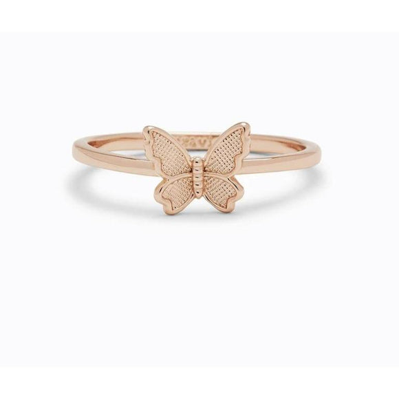 Puravida Butterfly in Flight (Rose Gold)-PURAVIDA-hip-kid