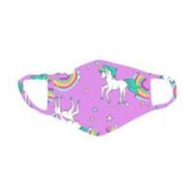 Stoopher Face Mask Rainbow Unicorn (Toddler 2-5yrs)-STOOPHER-hip-kid