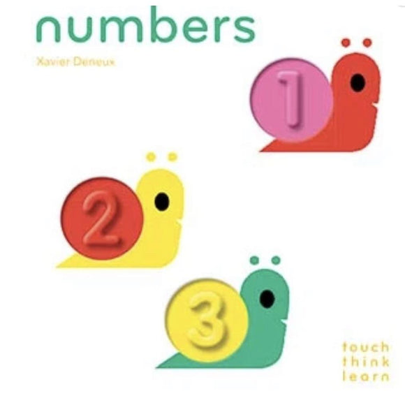 Touch Think Learn Numbers-HACHETTE-hip-kid