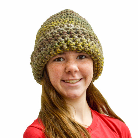 """Urban Camo"" Crochet Hat"