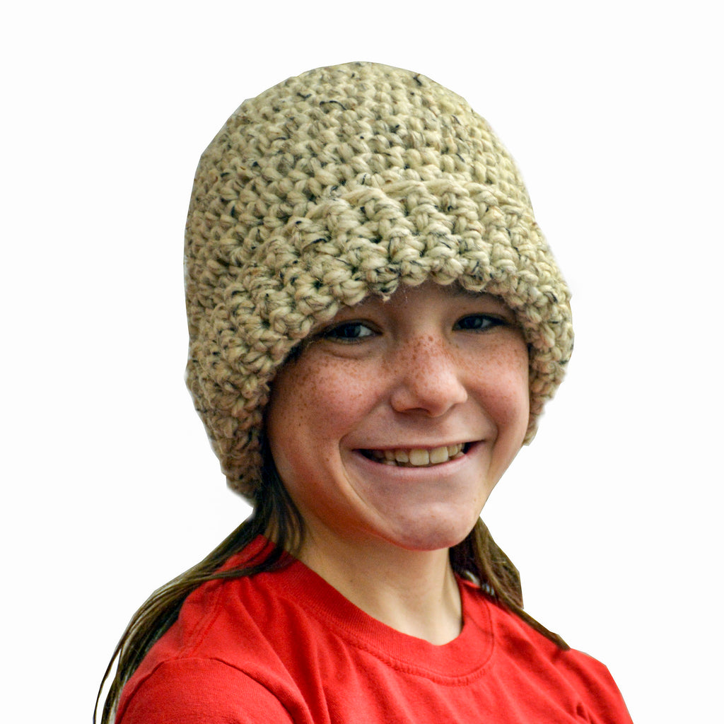 """Oatmeal"" Crochet Hat"