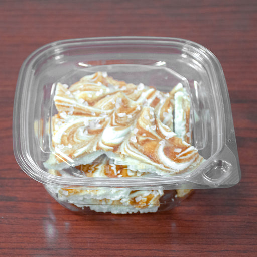 White Chocolate Salted Caramel Bark