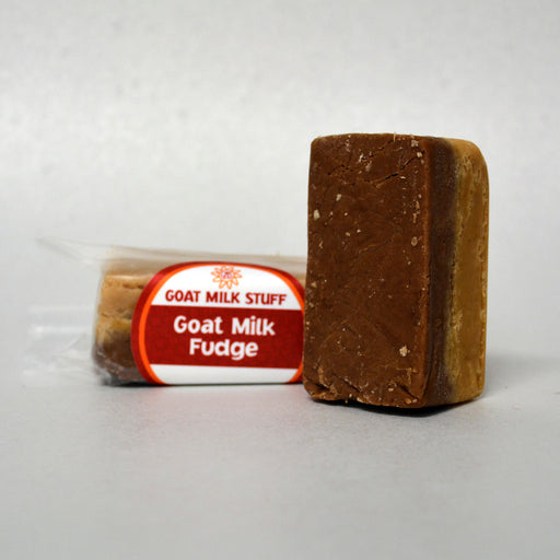 Chocolate Peanut Butter Goat Milk Fudge