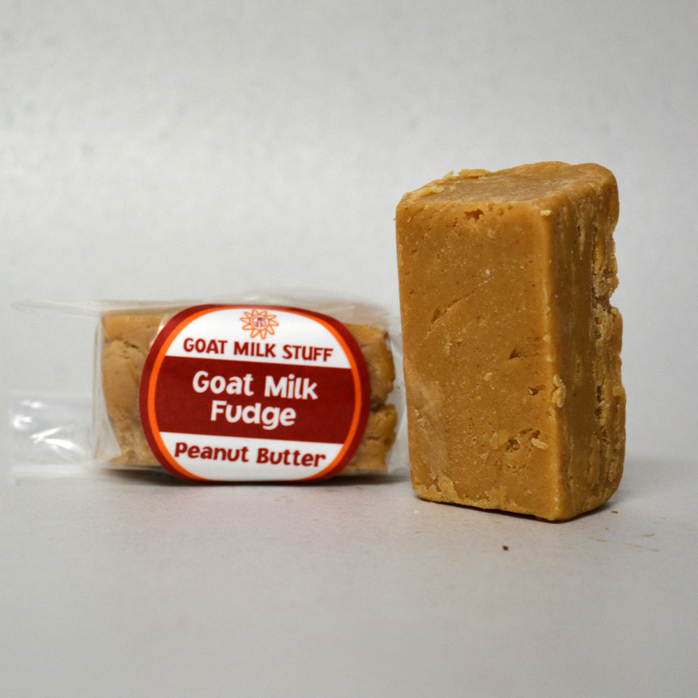 Peanut Butter Goat Milk Fudge