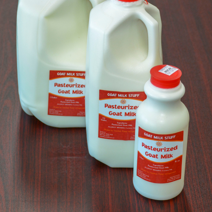 Fluid Goat Milk Gallon