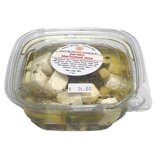 Goat Cheese Marinated Fresh Feta <br>Garden