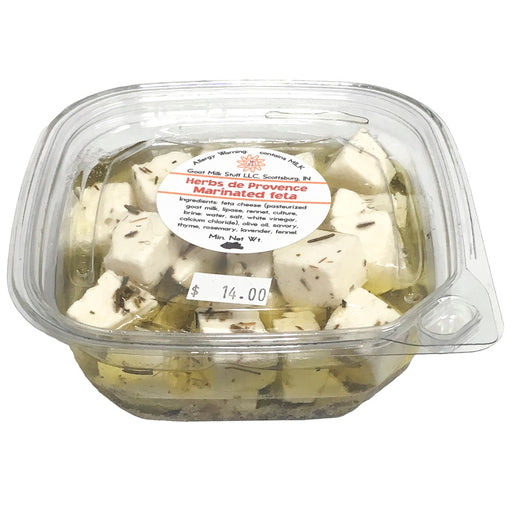 Goat Cheese Marinated Fresh Feta <br>Herbs de Provence