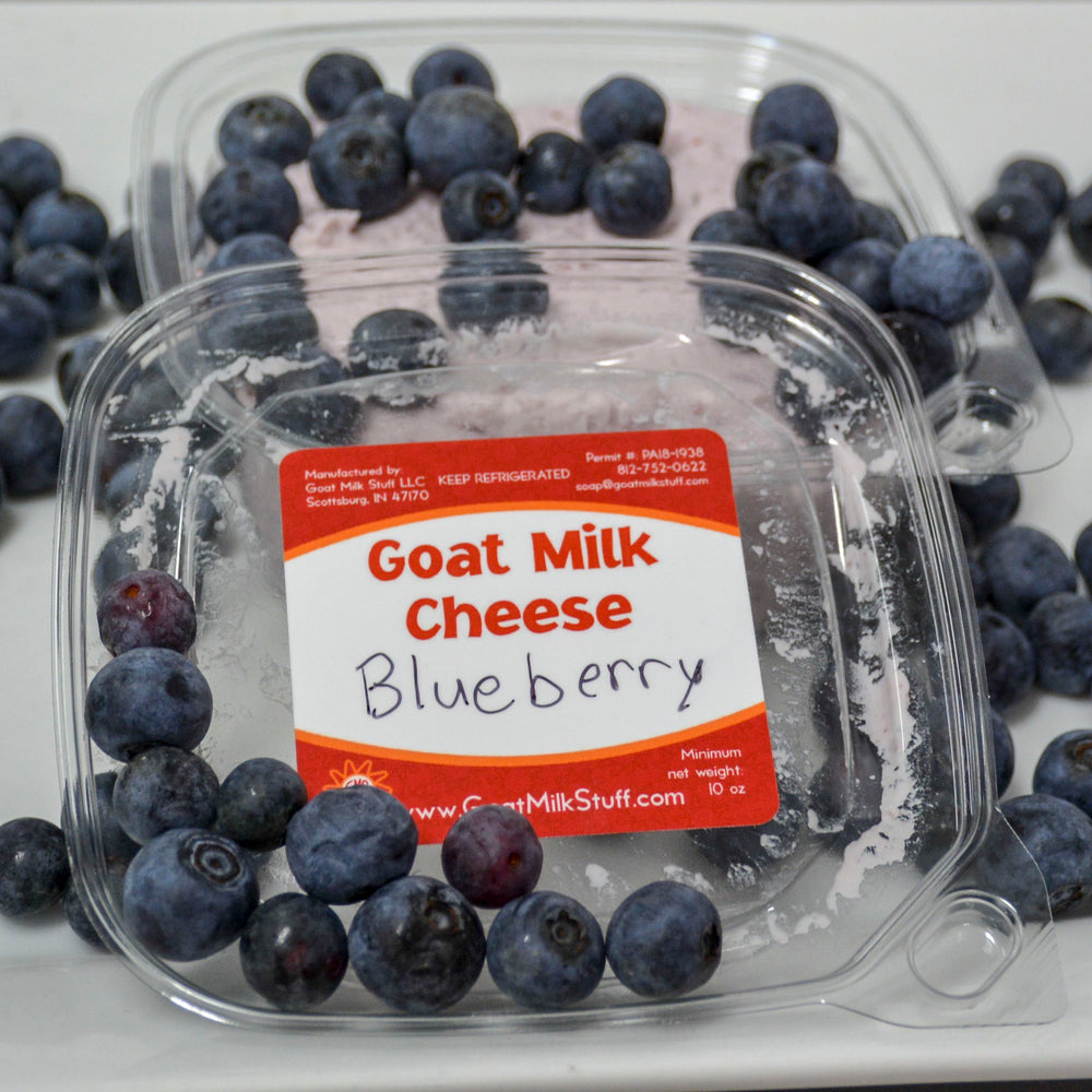 Blueberry Chevre <br>Goat Cheese