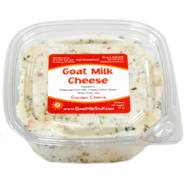 goat cheese chevre - garden