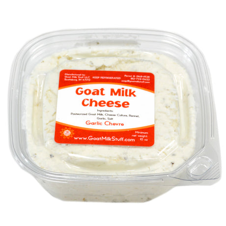 Garlic Chevre <br>Goat Cheese