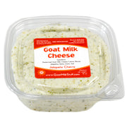 goat cheese chevre - jalapeno