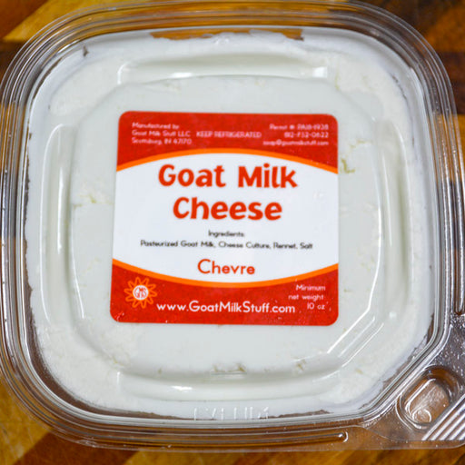 Plain Chevre <br>Goat Cheese
