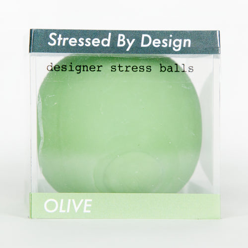 Designer Stress Ball - Olive