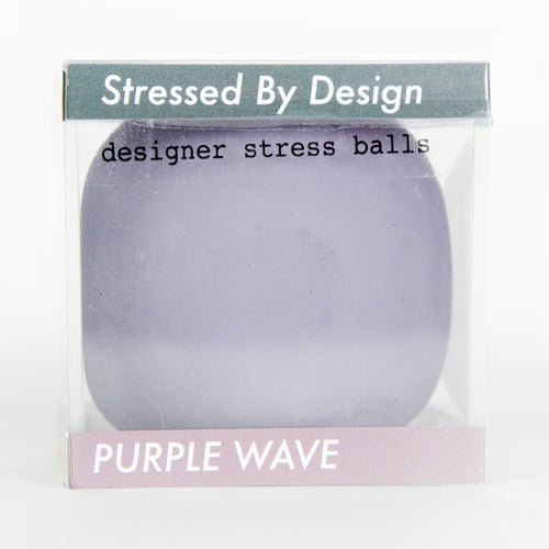 Designer Stress Ball - Purple Wave