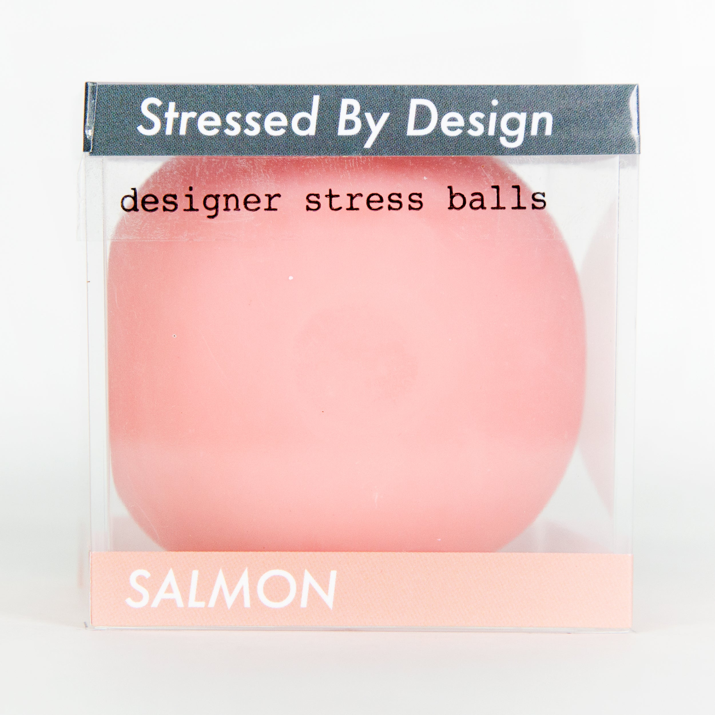Designer Stress Ball - Salmon
