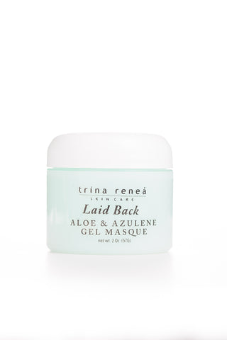 TRS Laid Back Aloe & Azulene Gel Masque (2 FL OZ)