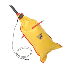 Dual-Chamber Paddle Float, Yellow, Accessories, Paddles, Transport, Kayaks Canoes Rafts, 39.45, Seattle Sports