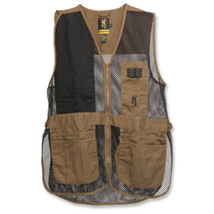 Trapper Creek Vest - Clay-Black Small