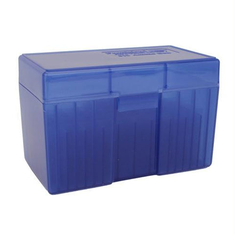 #511 - Blue, 50 ct. Ammo Box, Belted Magnum, Ammo Boxes, Ammunition Box, Blue, Ammunition Storage, 5.49, Frankford Arsenal