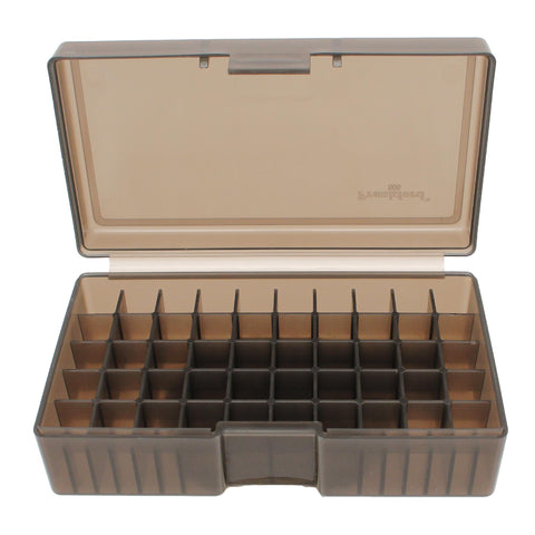 #506 - Gray, 50 ct. Ammo Box, 480 Ruger, 50 AE, Ammo Boxes, Ammunition Box, Gray, Ammunition Storage, 4.49, Frankford Arsenal